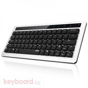 Клавиатура RAPOO KX Black Безжична механична светеща