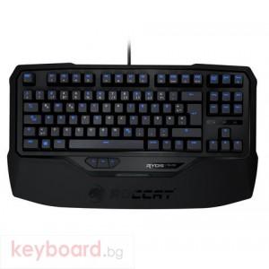 Клавиатура ROCCAT геймърска механична Ryos TKL Pro кафява