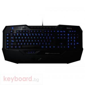 Клавиатура ROCCAT геймърска Isku Illuminated