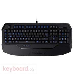 Клавиатура ROCCAT геймърска механична Ryos MK Pro кафява