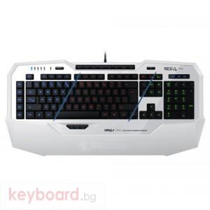 Клавиатура ROCCAT геймърска клавиатура Roccat Isku FX