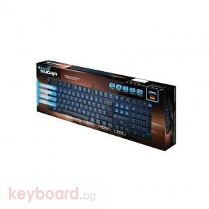 Геймърска механична клавиатура Roccat Suora Brown USB