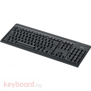 Клавиатура FUJITSU KB410 USB Black BG/US