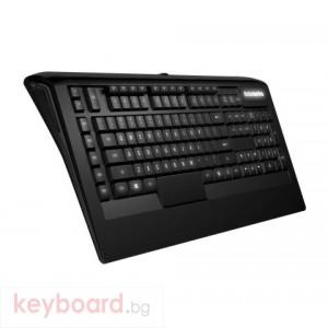 Клавиатура SteelSeries Apex 300 геймърскa USB Нископрофилни бутони
