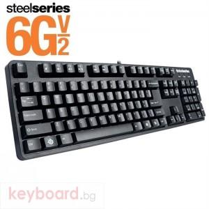Клавиатура SteelSeries геймърскa 6Gv2