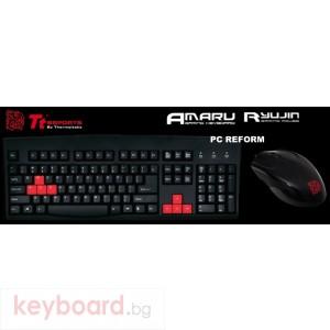 Клавиатура THERMALTAKE Геймърски комплект Amaru клавиатура + Ryujin