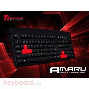 Клавиатура THERMALTAKE геймърска TteSPORTS Amaru, кирилизирана