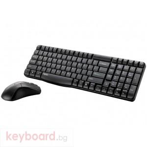 Клавиатура RAPOO 8000 безжичен комплект клавиатура с мишка,black