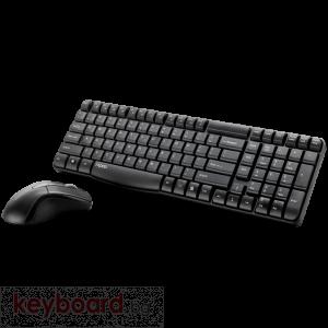 Клавиатура RAPOO X1800 Безжичен комплект клавиатура с мишка
