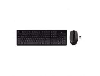 Безжичен комплект HAMA RF2300 клавиатура+мишка черна USB