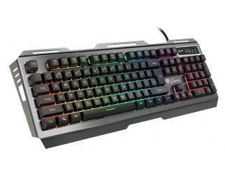 Клавиатура GENESIS Gaming Keyboard Rhod 420 Rgb Backlight Us Layout