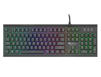 Клавиатура GENESIS Hybrid Gaming Keyboard Thor 200 Rgb Hybrid Switch Rgb Backlight Us Layout