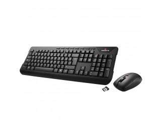 Kомплект клавиатура с мишка Gigabyte KM7590, Черна