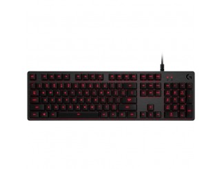 Геймърска клавиатура LOGITECH Wired, USB 2.0, Английски (Международен)