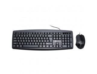 Клавиатура и мишка RoXpower Keyboard T13 wired combo-set