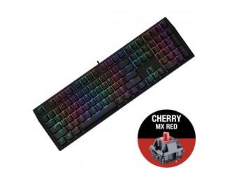 Геймърскa механична клавиатура Ducky Shine 7 Blackout RGB, Cherry MX Red