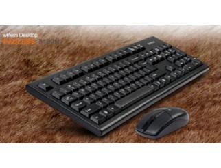 Клавиатура A4 TECH 3100N Kомплект безжични клавиатура и мишка