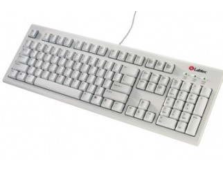 Клавиатура LABTEC WHITE KEYBOARD PLUS FRENCH