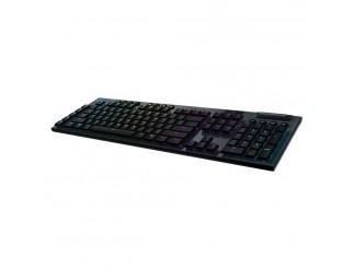 Безжична геймърска механична клавиатура Logitech, G915 Lightsync RGB, Tactile суичове