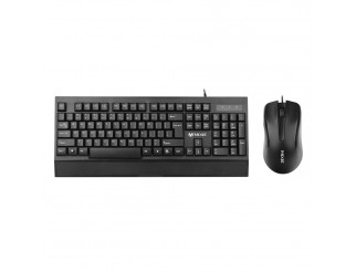 Комплект мишка и клавиатура Mixie X2000, Черен