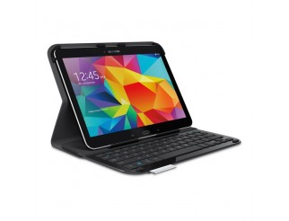 Logitech Ultrathin Keyboard Folio for Samsung Galaxy Tab 4, Russian Layout