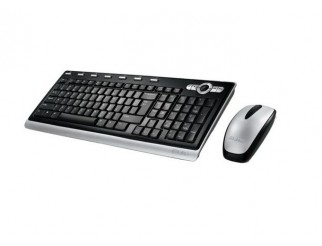 Комплект Labtec Wireless Ultra-Flat Combo, Keyboard and mouse BG, Black and silver