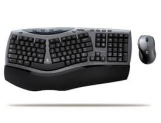 Клавиатура LOGITECH Cordless Desktop Comfort Laser 967692-0103