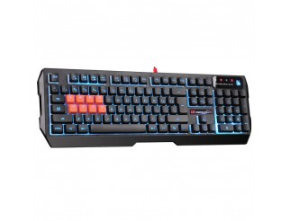 Геймърска полу-механична клавиатура A4tech Bloody, B188, Optic-switch, Neon Glare, Черна