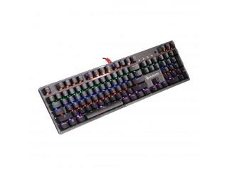 Геймърска механична клавиатура A4tech Bloody, B810R NETBEE, Сини суичове, Карбон