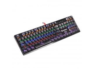 Геймърска механична клавиатура A4tech Bloody, B820R, Сини суичове, Черен