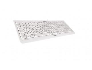 Стандартна клавиатура CHERRY KC 1000 Бял Жично USB