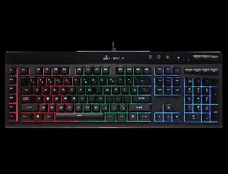 Клавиатура CORSAIR K55 RGB Gaming Keyboard