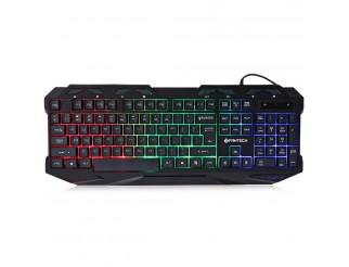Геймърска клавиатура FanTech K10, Черен