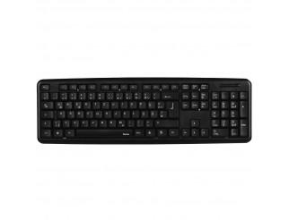 Стандартна клавиатура HAMA Verano Черна USB