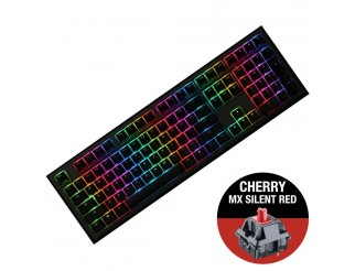 Геймърскa механична клавиатура Ducky Shine 7 Gunmetal Gray RGB, Cherry MX Silent Red
