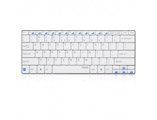 Клавиатура RAPOO E6100 Блутут ултра тънка бяла